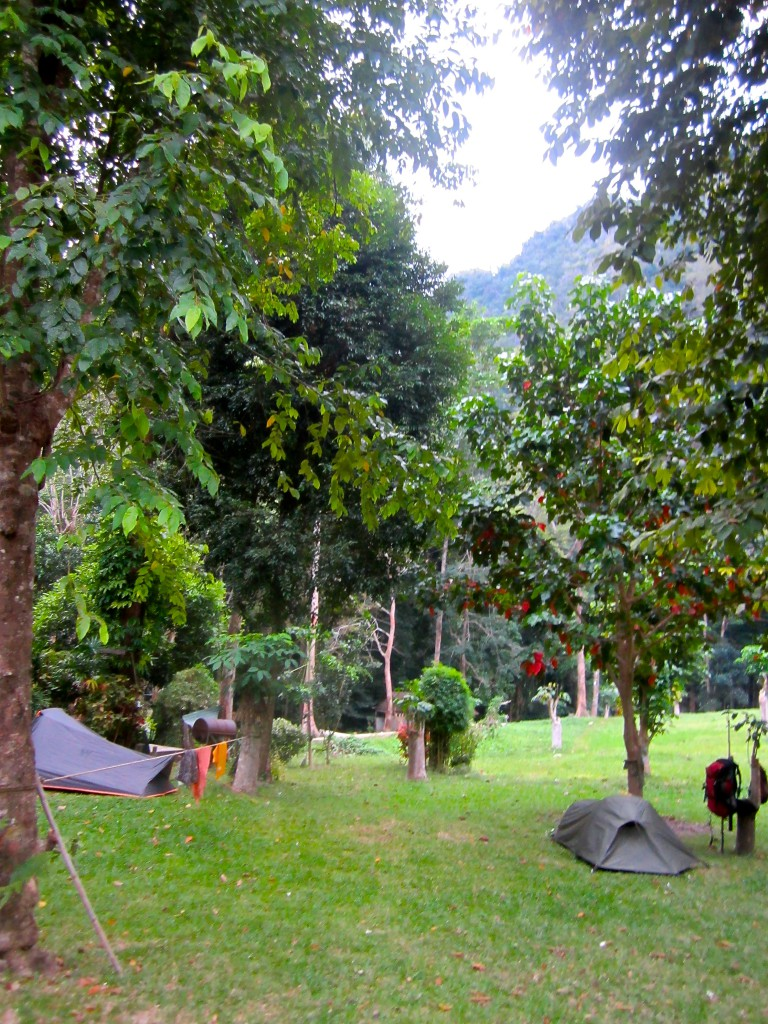 There was also this camping site at Railey Cabana
