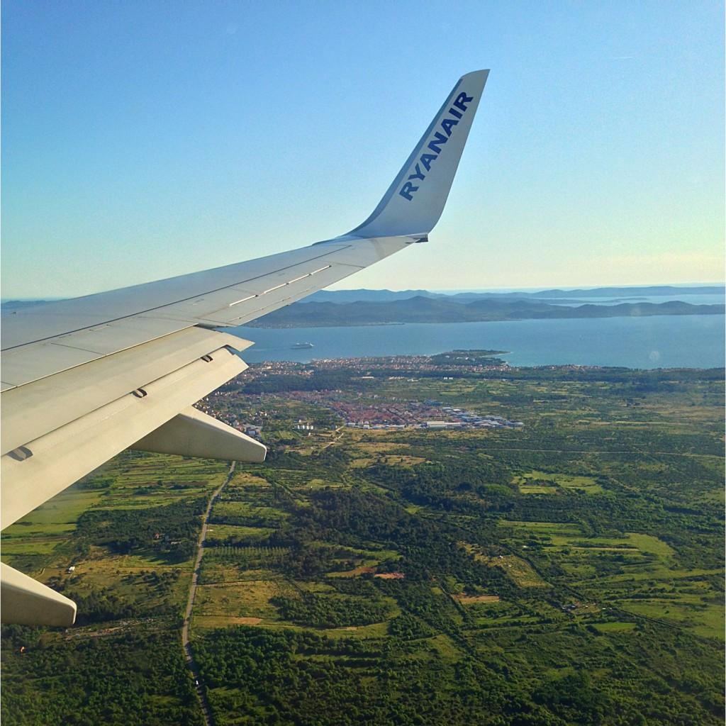 Arriving in Zadar