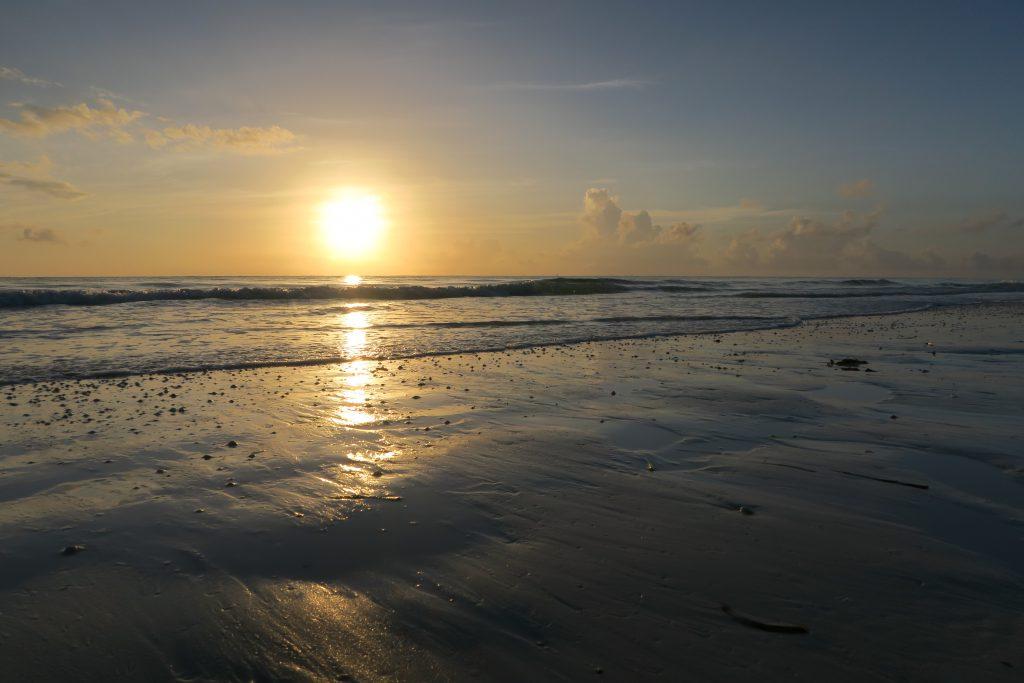 sunrise paje beach Zanzibar