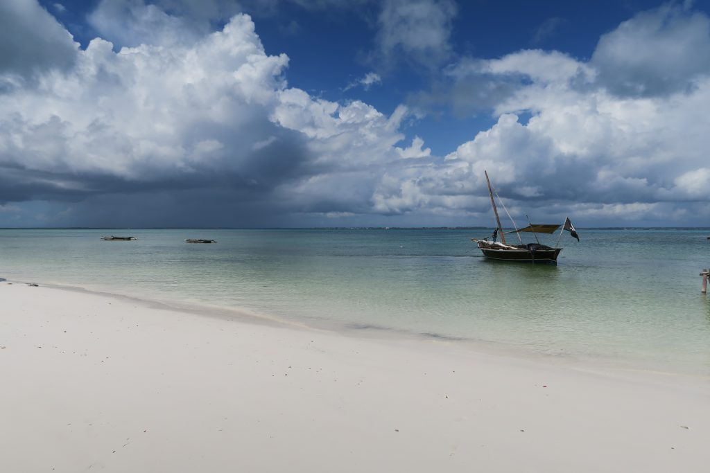 Vanora the White Wave Boat tour Zanzibar