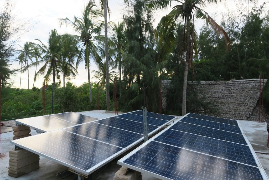 solar power eco village ecotourism zanzibar