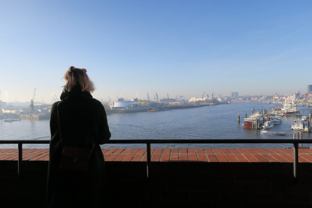 The Elbphilharmonie view hamburg germany