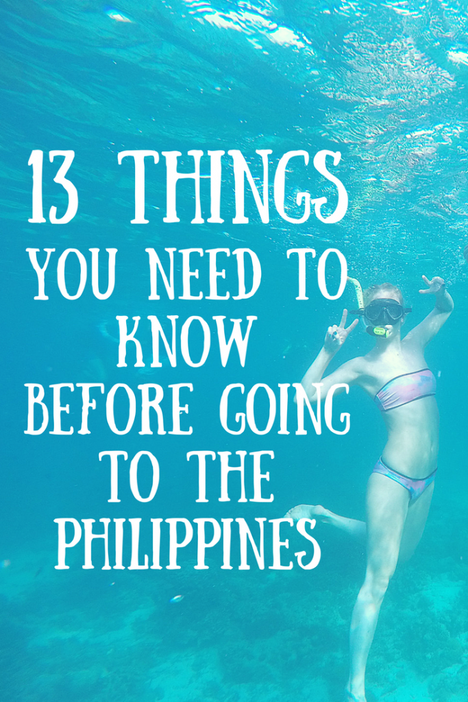 What you need to know before going to the Philippines