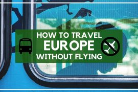 How to travel Europe without flying