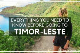 Everything you need to know before traveling to East Timor