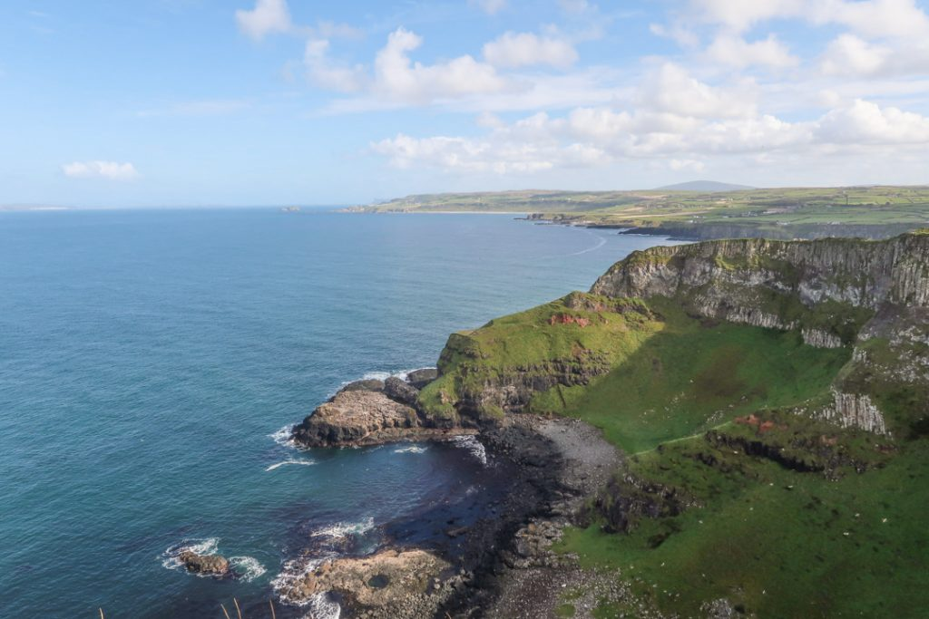 Causeway Coast Way northern ireland hiking trail