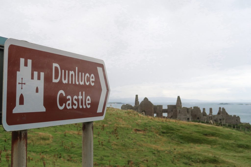 Dunluce Castle, aka House of Greyjoy on Game of Thrones Northern ireland