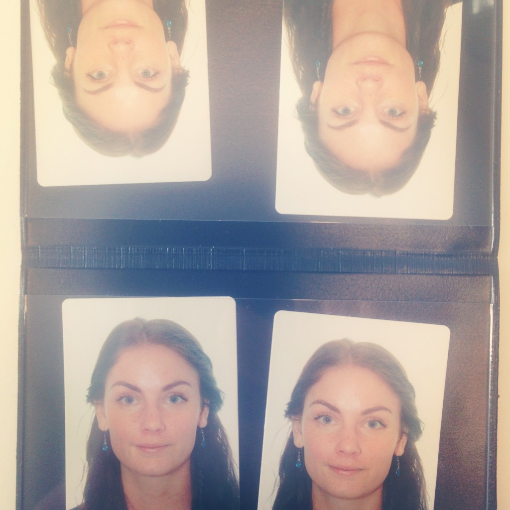 Ready to apply! Photos for my russian visa.