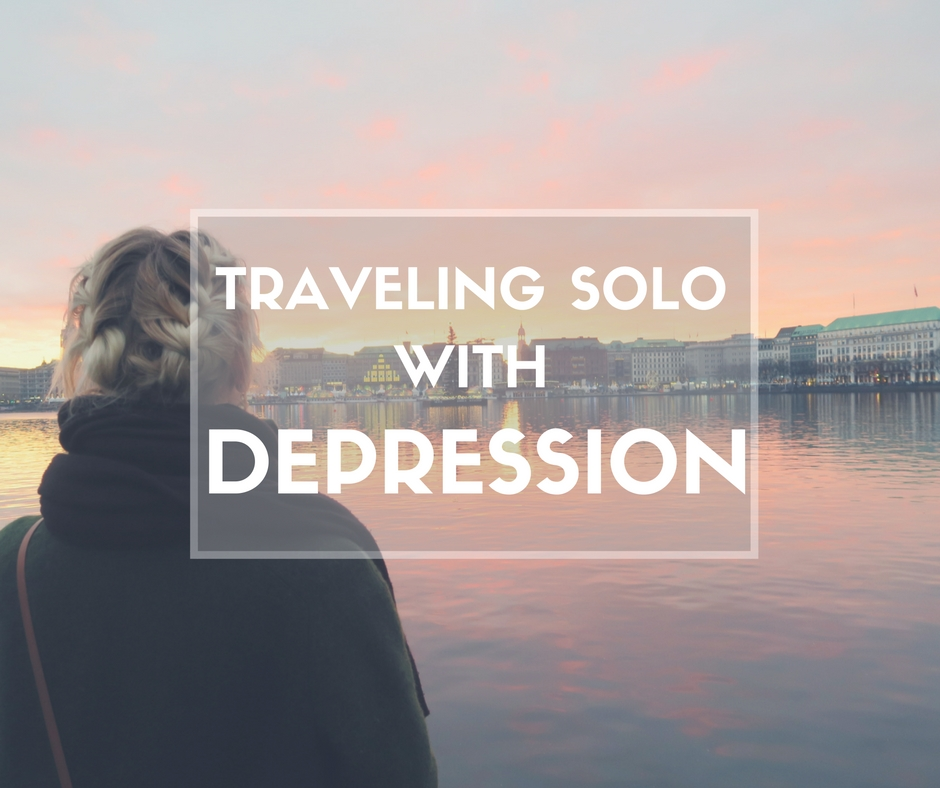traveling alone with depression