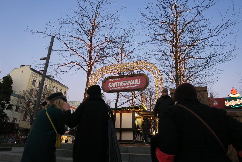 Santa Pauli Christmas Market Hamburg
