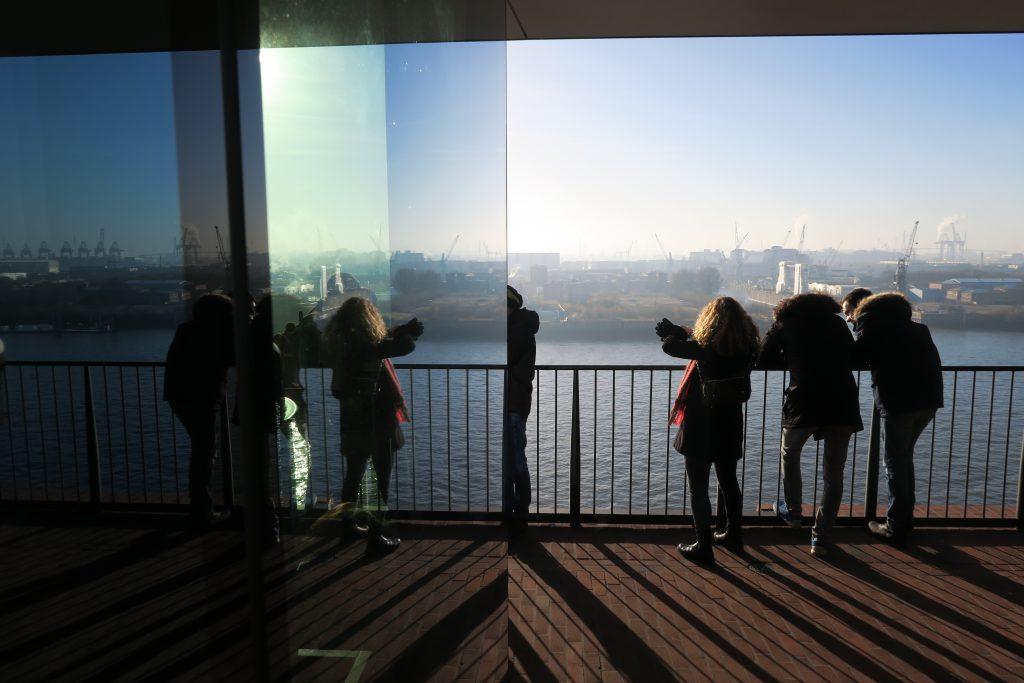 The Elbphilharmonie view hamburg germany