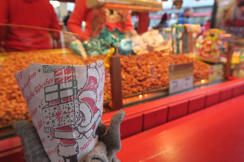 candied almonds hamburg christmas market germany