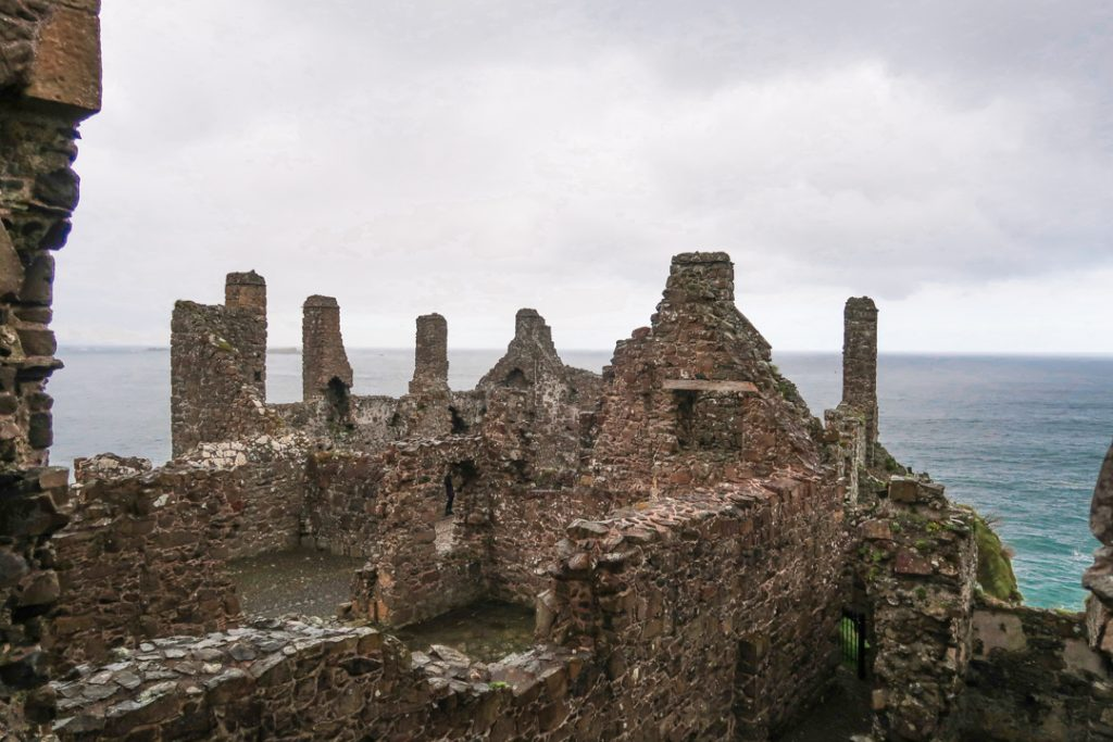 Impressive sight with just as impressive views, Dunluce Castle northern ireland